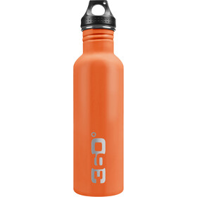 360° degrees Stainless Drikkeflaske 1000ml, orange
